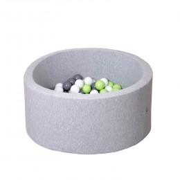 Ballbecken aus Textil