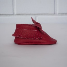 Mokasyny (czerwone)