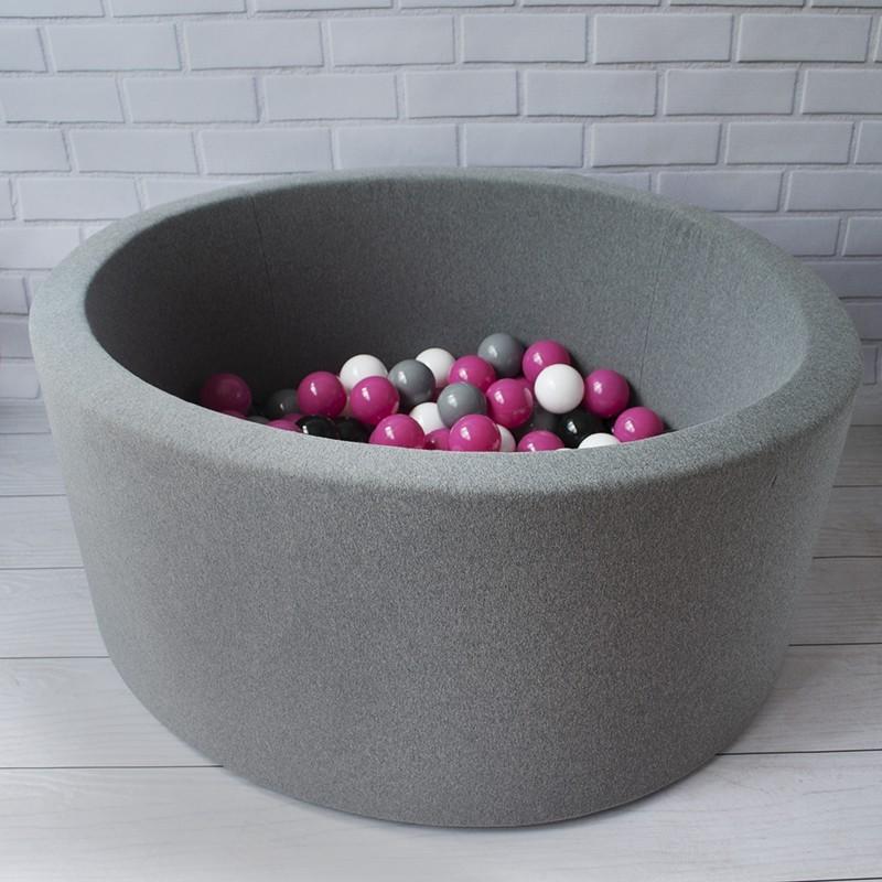 78c36d13b Suchy basen z piłkami kulkami dla dzieci
